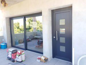 fabricar puertas aluminio