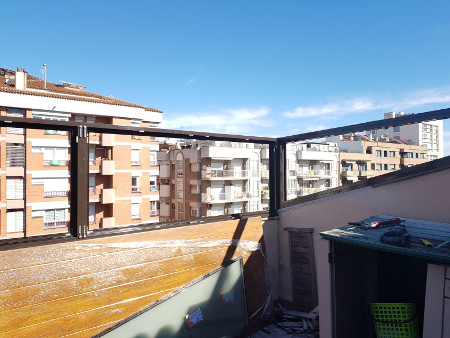 carpintería en terrazas